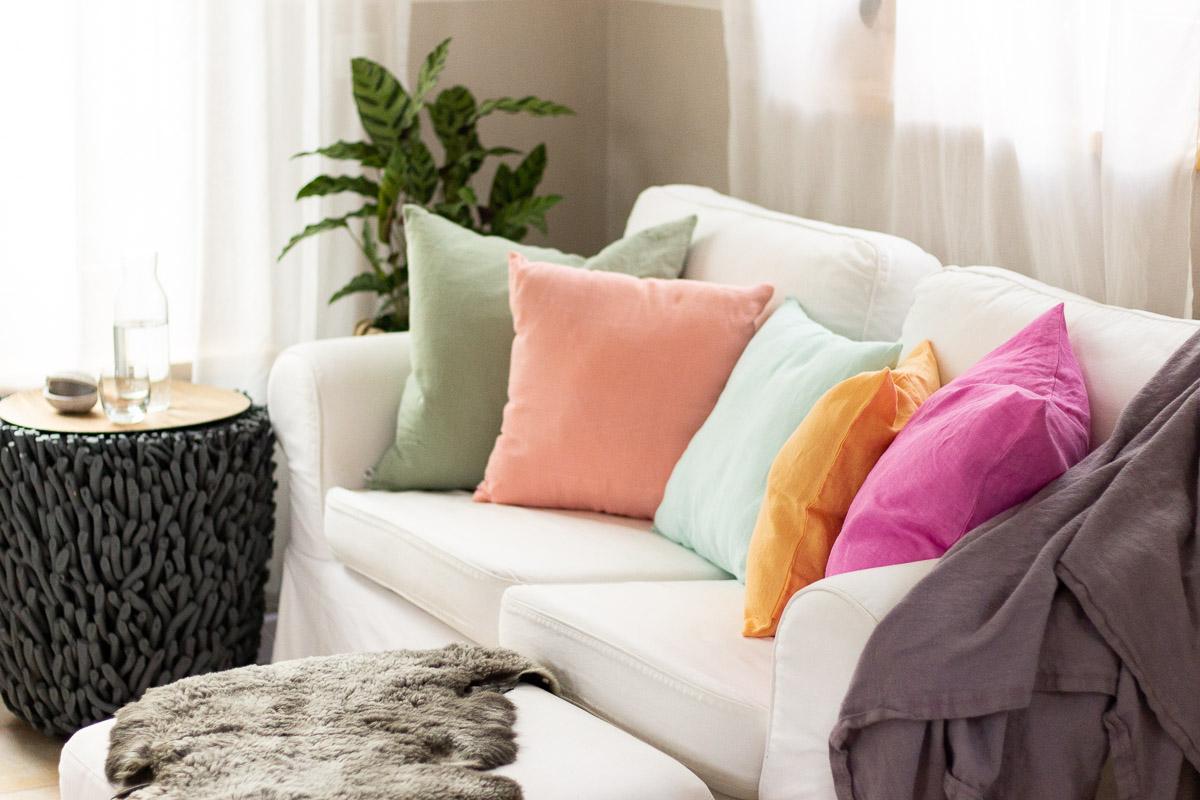DEIN Leinen - Individuell. Entspannt. Zuhause. - Home-Textilien aus reinem Leinen