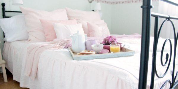 Home-Textilien aus reinem Leinen nach Wunsch