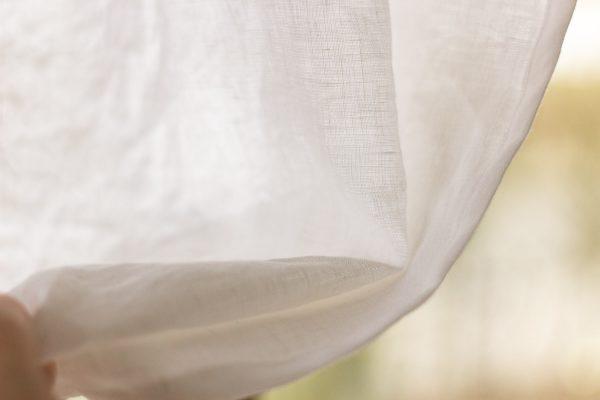 Vorhang aus Leinen