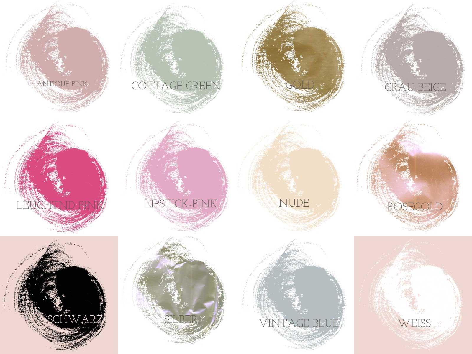 Druckfarben für dein Wunschmotiv