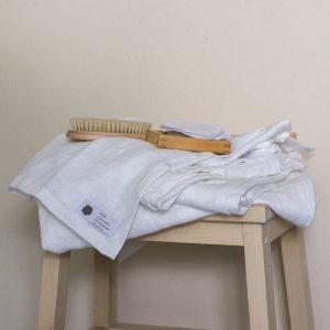 Leinenhandtücher im Set