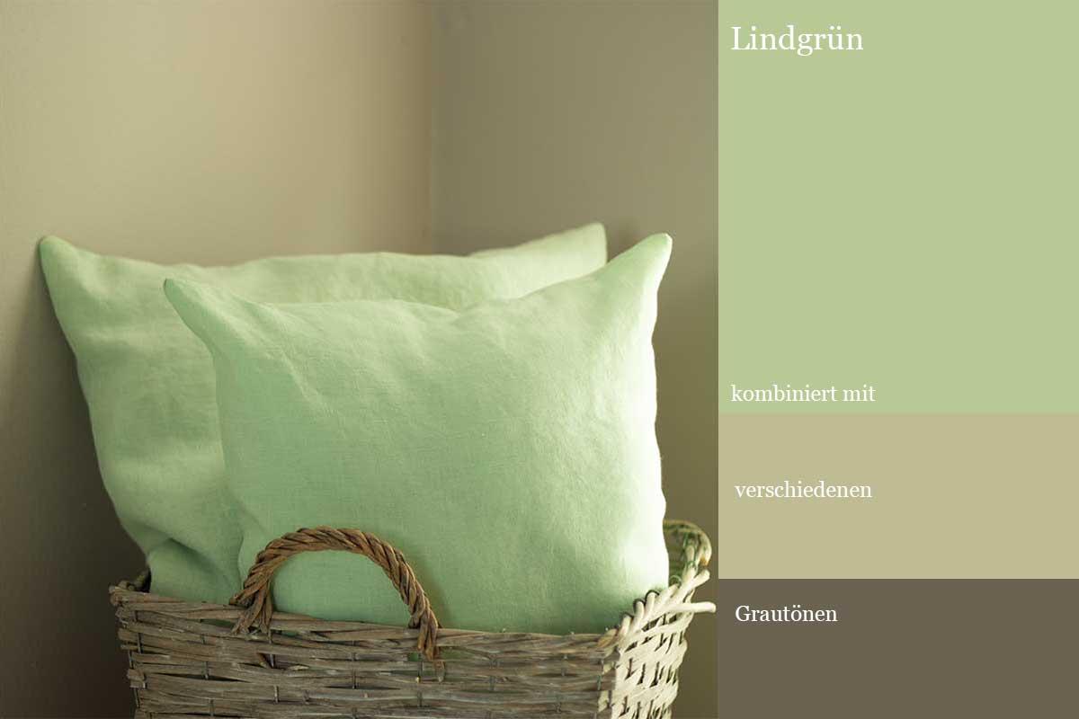 herbstlich dekorieren mit Lindgrün