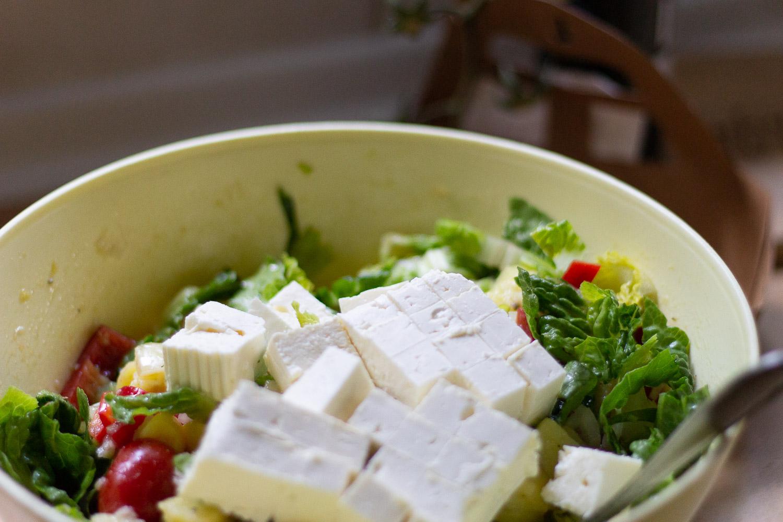 bunter Kartoffelsalat für dein Sommerpicknick
