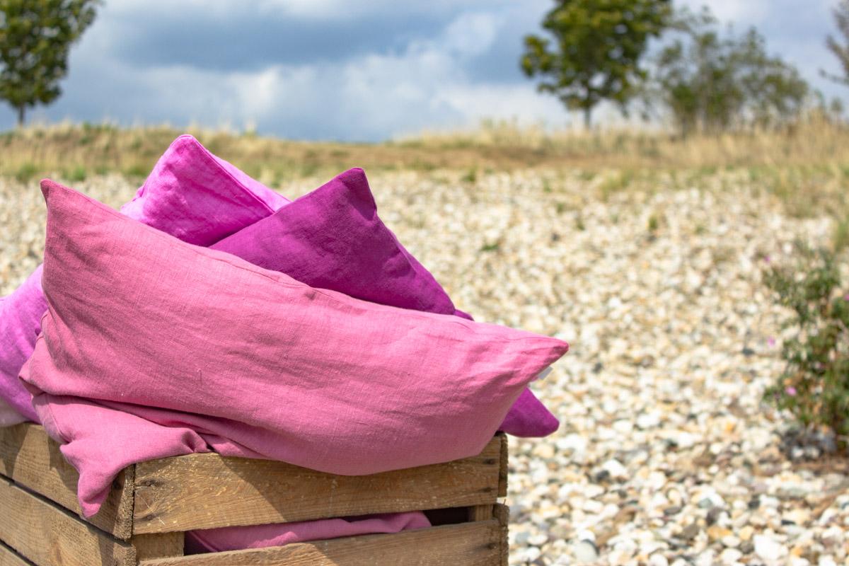 Kissen im Korb für dein Picknick